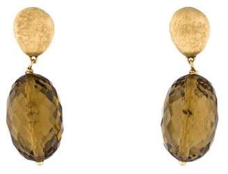 Marco Bicego 18K Citrine Drop Earrings