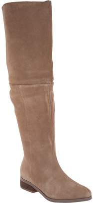 Sole Society Suede Over the Knee Boots - Sonoma