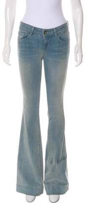 J Brand Flared Low-Rise Jeans