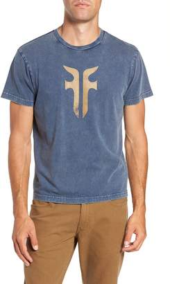 Frye Double-F Logo Acid Wash T-Shirt