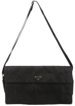 Prada Vela Shoulder Bag $130 thestylecure.com