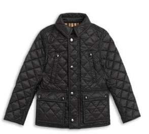 Burberry Little Boy's& Boy's Charlie Vintage Quilted Jacket