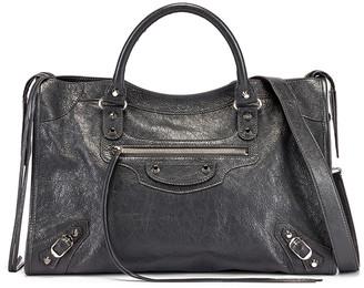 Balenciaga Classic City Bag in Grey | FWRD