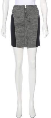 See by Chloe Wool Mini Skirt