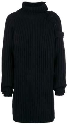 Yohji Yamamoto mid-length turtleneck sweater