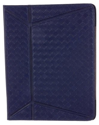 Bottega Veneta Bottega Veneta Intrecciato Leather iPad Case