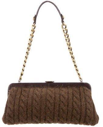 MICHAEL Michael KorsMichael Kors Cable Knit Shoulder Bag