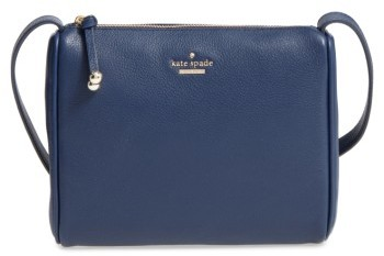Kate Spade Kate Spade New York Lombard Street - Cayli Leather Crossbody Bag - Blue
