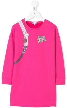 Little Marc Jacobs logo sweatshirt dress