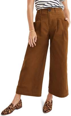Madewell Pleated Wide Leg Pants