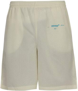 Off-White Gradient mesh shorts
