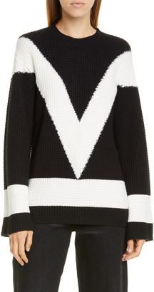 Victor Glemaud Cotton & Cashmere Crewneck Sweater