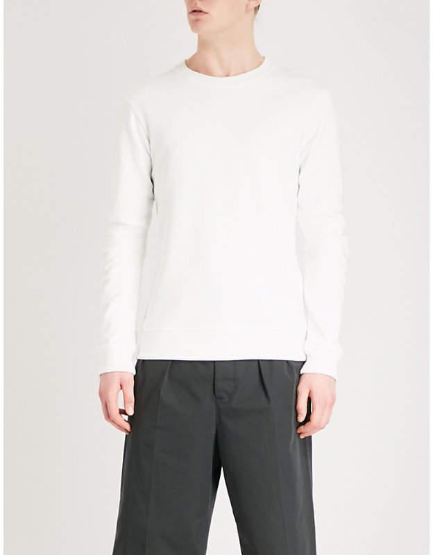 Panelled jersey sweatshirt
