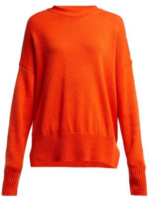 Jil Sander Oversized Cashmere Sweater - Womens - Orange