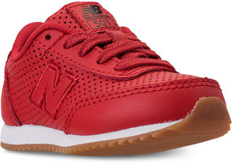 New Balance Toddler Boys' 501 Leather Casual Sneakers