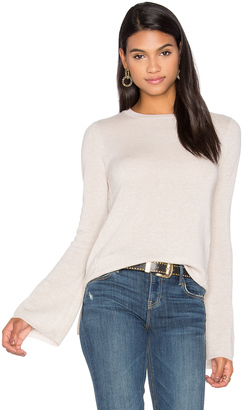 Autumn Cashmere Bell Sleeve Sweater $275 thestylecure.com
