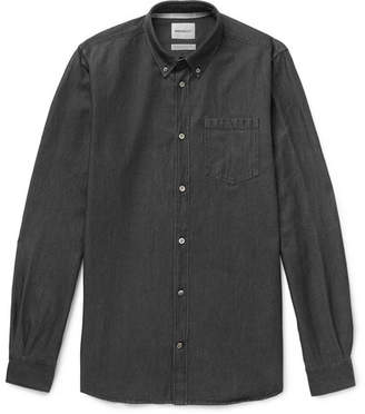 Norse Projects Anton Button-Down Collar Denim Shirt
