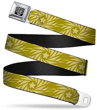 Buckle-Down Unisex-Adults Seatbelt Belt Pinwheel XL