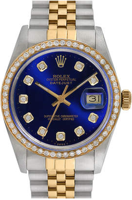 Rolex Heritage  1970S Men's Datejust Diamond Watch