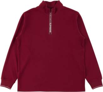 Supreme World Famous Half Zip Pullover - 'FW 17' - Dark Red