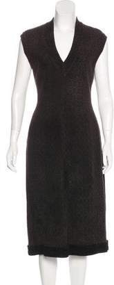 Alaia Knit Sheath Dress