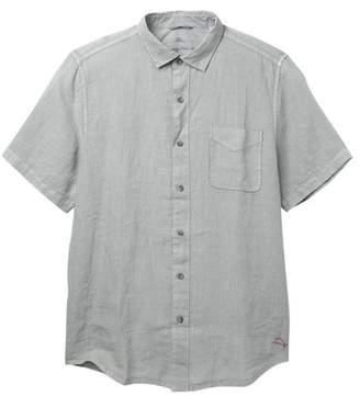 Tommy Bahama Seaspray Breezer Short Sleeve Linen Shirt (Big & Tall)