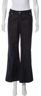 Calvin Klein Collection Mid-Rise Wide-Leg Jeans blue Mid-Rise Wide-Leg Jeans