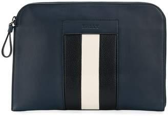 Bally stripe detail hand bag