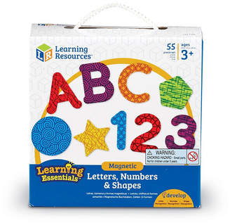 Learning Resources Magnetic Letters Numbers and Shapes