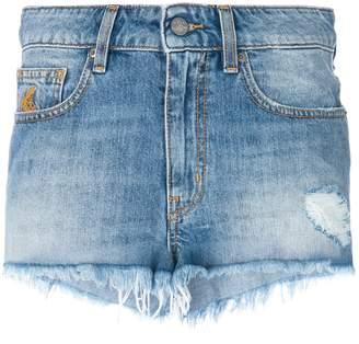 Vivienne Westwood frayed denim shorts