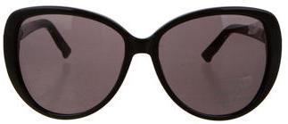 Swarovski Crystal-Embellished Sunglasses $145 thestylecure.com