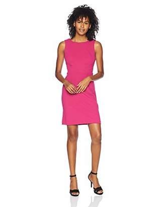 Betsey Johnson Junior's Scuba Crepe Dress with Cutout Back