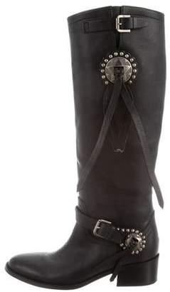 Ralph Lauren Purple Label Harness Riding Boots