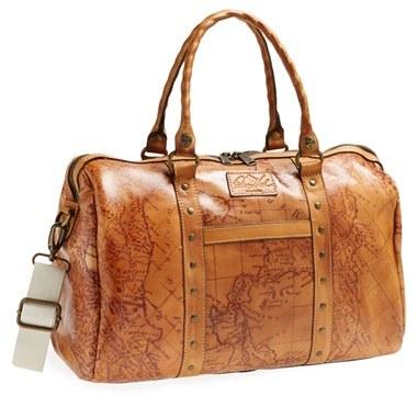Patricia Nash 'Stressa' Leather Overnight Bag (16 Inch)