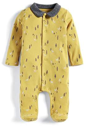 67d29afa5 Mamas and Papas Baby Boys' Tree Print Zip All in One Footies,(Size