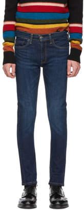 Levi's Levis Blue 519 Extreme Skinny Jeans