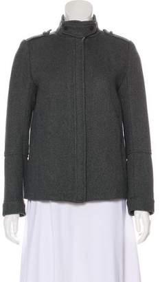 Vince High Neck Wool Jacket