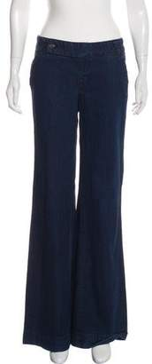 Tory Burch Mid-Rise Trouser Jeans