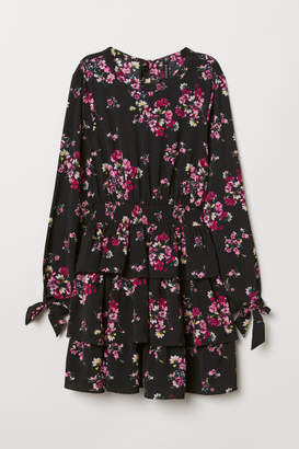 H&M Patterned Dress - Pink