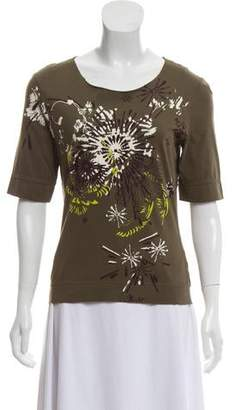 Kenzo Printed Short Sleeve Top