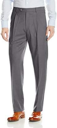 Hart Schaffner Marx Men's Single Pleat Chicago Fit Dress Pant