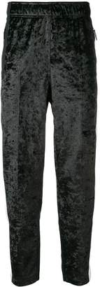 The North Face side-stripe fitted trousers
