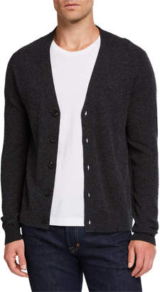 Neiman Marcus Men's Cashmere Colorblock Cardigan