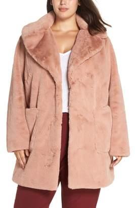 Rachel Roy Faux Fur Coat
