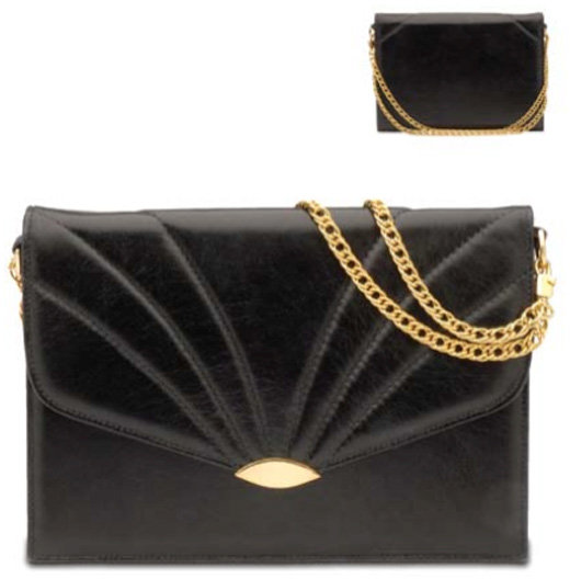 Jenny Bird Signature Square Clutch