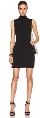 Alexander McQueen Sleeveless Knit Mini Dress $2,095 thestylecure.com