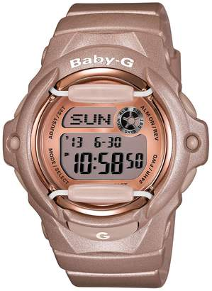 G-Shock BABY-G Baby-G Pink Dial Digital Watch, 46mm x 42mm