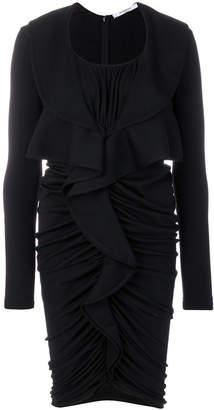 Givenchy (ジバンシイ) - Givenchy シャーリング ドレス