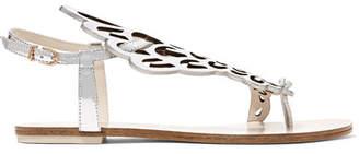 Sophia Webster Seraphina Metallic Leather Sandals - IT38.5