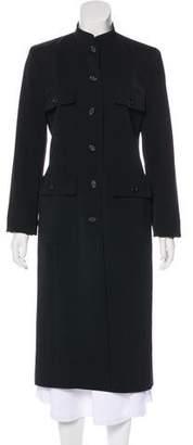 Celine Structured Long Coat